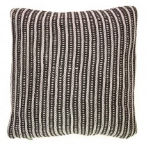 Casa Two Tone Tinke Cushion, Charcoal