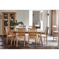 Ercol Teramo Medium Dining Table + 6 Chairs