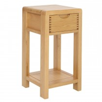 Ercol Bosco Compact Side Table, Brown