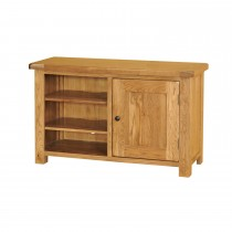 Casa Bordeaux Std Video Cabinet Tv Unit, Oak