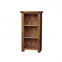 Casa Bordeaux Small Narrow Bookcase Bookcase, Oak