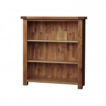 Casa Bordeaux Small Wide Bookcase Bookcase, Oak