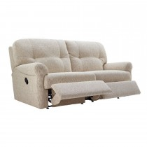 G Plan Winslet 3 Seater Double Manual Recliner Sofa