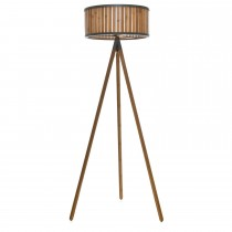 Casa Nautiq Tripod Floor Lamp, Brown