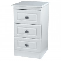 Welcome Pembroke 3 Drawer Locker 3 Draw, White