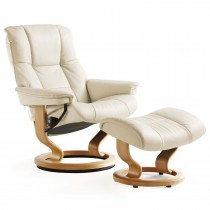 Stressless Mayfair Medium Chair & Stool