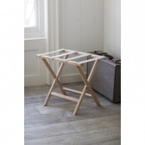 Garden Trading Weekend Folding Luggage Rack, Beech