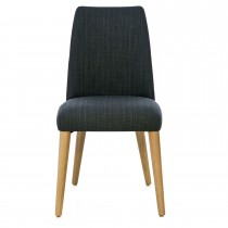 Casa Ilva Oak Upholstered Dining Chair