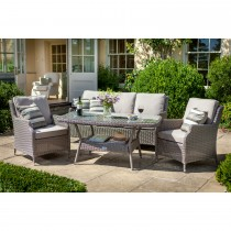 Hartman Set Hartford Casual Lounge Set, Driftwood/cashew