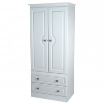 Welcome Pembroke 2 Drawer Robe Double