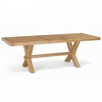 Corndell Fairford Cross Ext Dining Tbl Table