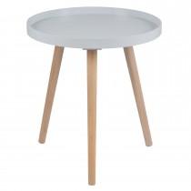 Casa Halston Round Table Large Onesize, Grey