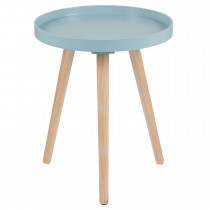 Casa Halston Round Table Small Onesize, Aqua