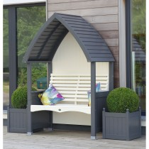 Afk Cottage Arbour, Charcoal
