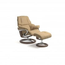 Stressless Reno Medium Chair & Stool