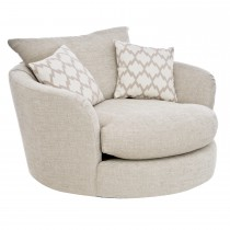 Moore Swivel Cuddler Chair