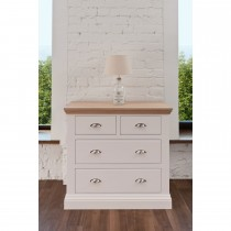 Tch Cannes 2+2 Drawer Chest 4 Draw