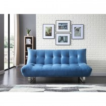 Lux Sofa Bed, Blue