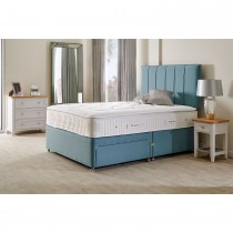 Sleepeezee Cooler Supreme Two Drawer Divan Set, Double, Teal