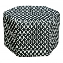 Casa Large Hex Footstool