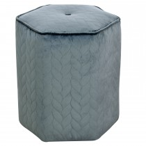 Casa Small Hex Footstool