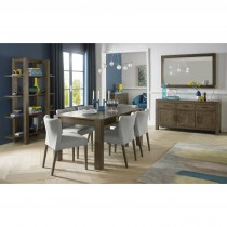 Casa Toledo Med Table & 4 Chairs Dining Set