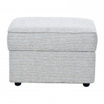 Casa Plymouth Storage Stool Footstool, Anya Natural