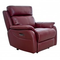 Casa Shiraz Power Recliner Chair with Tilt Head Rest