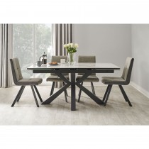 Rimini Dining Set and Four Monza Chairs