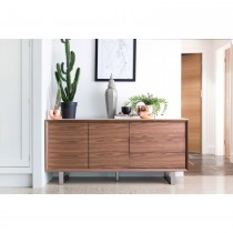 Casa Pierra Wide Sideboard Sideboard, Walnut