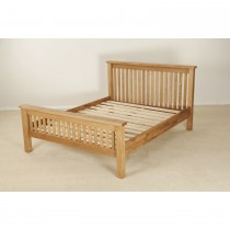 Casa Seville 5'low Foot Endbed King, Solid Oak