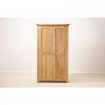 Casa Seville Full Length Wardrobe Robe, Solid Oak