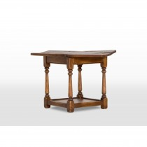Old Charm Flip Top Table Table