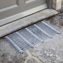Garden Trading Doormat, Large, Galvanised Steel
