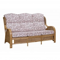 Cane Industries Bari 3 Seater Sofa Onesize