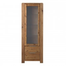 Casa Canberra Tower Display Cabinet, Left Hand