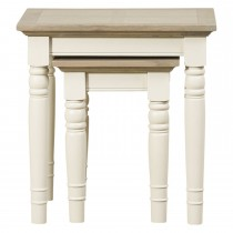Lilly Nest of Tables, Grey