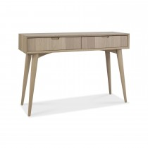 Casa Ottawa Console Table With Drws, Scandi Oak