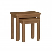 Casa Radstock Nest Of 2 Tables, Brown
