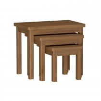 Casa Radstock Nest Of 3 Tables, Brown