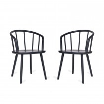 Garden Trading Pair Of Carver Chairs, Ash
