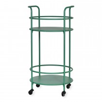 Garden Trading Round Drinks Table, Green