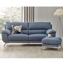 Atlantic Three Seater Fabric Sofa