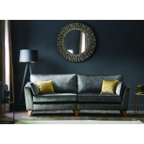 Viscount Three Seater Fabric Sofa