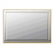 "Midland Reproduction Westminster 90x60cm (36x24"") Gold Rectangle"