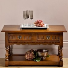 Old Charm Occasional Table, Oak