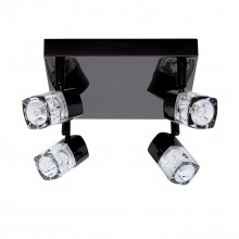Blocs 4 Light Spotlight , Black