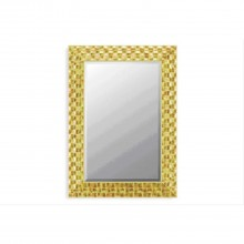 Midland Reproduction Gold Mosaic Mirror, Gold