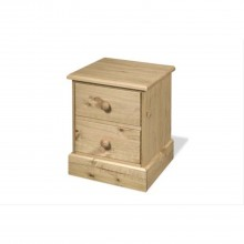 Carleton Two Drawer Bedside Chest