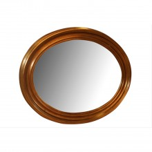 Ant Gold Oval Mirror